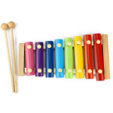 Piano de cliquetis 8 Échelle en bois des instruments de musique d'enfants de jouets éducatifs