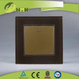 Modo certificato del gruppo 1 del vetro temperato 1 di standard europeo dei CB del CE di TUV con l'interruttore BIANCO della parete del LED