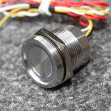 interruttore piezo-elettrico dell'acciaio inossidabile di 22mm