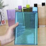 Портативный мини-Уплощенный книга пластиковые спортивные бутылка воды