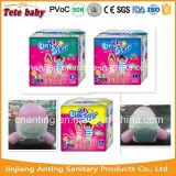 Classe etária dos bebês e tecido material 2t-3t do bebê das cuecas de Cvs Traing do algodão