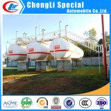 ASME標準BVによって証明される水平LPGの貯蔵タンク60m3 LPGのタンカー60000Lのガスタンクの工場60 CBMの液体のガスタンク水平LPGタンクLPG記憶のタンカー