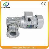 Motor de la caja de engranajes de la velocidad del gusano de Gphq Nmrv90 0.55kw