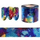 Folha de Arte de unhas Nail Art adesivo para decoração Arte do prego CS001 Pakcing Rolo 4*12000cm