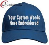 Unisex de sarga de algodón 100% personalizado con logo bordado de su solicitud