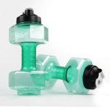 2500 мл BPA бесплатный спортзал фитнес-Dumbell бутылка воды с помощью винтов с
