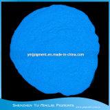 하늘 파란 효력 색깔 어두운 분말에 있는 Photoluminescent 안료 놀