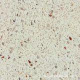 Laje artificial projetada material da pedra de quartzo da bancada para a mesa da cozinha