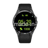 Wristband astuto della vigilanza di WiFi GPS del Android 5.1 di Quadrato-Memoria Mtk6580 della macchina fotografica astuta del CPU
