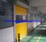 Porta de Giro Industrial/ PVC Porta de alta velocidade/ Porta Deslizante