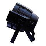 段階の照明IP65は8チャンネル制御DMX512 54PCS LEDの同価ライトを防水する