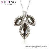 Swarovski Malaのネックレスの女性の宝石類からの44361のXupingの葉形の水晶