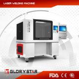 Волокна лазерная маркировка машины с помощью поворотного устройства стекла/ пластмассовых материалов