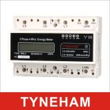 Тип цифровой метр LCD метра Rial DIN провода Dts-4L 3 Pahse 3 электрический
