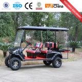 Carro de golfe a pilhas de 6 assentos da venda quente nova do projeto