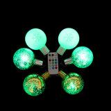 リモート・コントロールの多色刷りのクリスマスLEDの球ライト