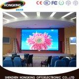 P6 HD Video Full-Color interior pantalla LED para publicidad