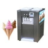 Цифровой цветной дисплей мягкой поверхности стола служить мороженое машины