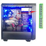 Monitor do LCD de 17 polegadas com teclado e rato DJ-C004