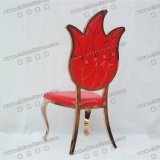 결혼식과 연회 (YCX-SS37)를 위한 로즈 금 스테인리스 채널 피닉스 신식 도매 의자
