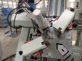 Guichet en aluminium et têtes automatiques de porte quatre sertissant la machine