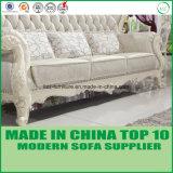 Sofà di legno 1+2+3 del tessuto classico domestico alla moda della mobilia