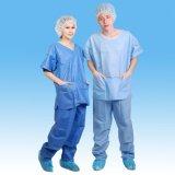 De hygiënische Geduldige Toga/schrobt Kostuums/de Kleding van het Ziekenhuis