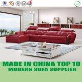 現代L形の余暇のホーム家具の革リクライニングチェアのソファー
