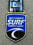 Медаль эмали заливки формы высокого качества 3D