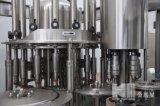 Terminar a linha de produção da água de frasco