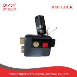 Cerrajero Rim pestillo de bloqueo de puerta electrónica con el botón de bloqueo interior