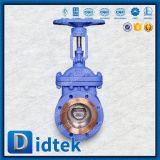 Didtekのフランジによって上げられる表面適用範囲が広いウェッジ仕切り弁Pn16