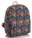 꽃 무늬 작풍 책가방, 꽃 시리즈 만화 귀여운 시리즈 책가방 대학 바람 여가 부대