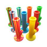 ガラスハーブボールが付いている卸し売りガラス煙る管のまっすぐなシリコーンの管