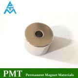 Aimant diamétral de moteur de la magnétisation N40uh avec du néodyme et le praséodyme