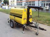 12.8kVA/Kw Installatie van de Verlichting van de Dieselmotor van Kubota van de Lamp van de Generator van de Toren van de kruk de Hand Lichte Mobiele
