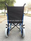 Silla ligera del transporte, sillón de ruedas manual