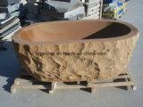 Arenaria di pietra naturale del basamento/vasca da bagno di pietra di marmo/del granito per la mobilia della stanza da bagno