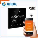 Termóstato grande del control de la temperatura ambiente del termóstato de WiFi de la pantalla táctil