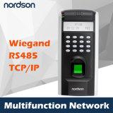 Стержень посещаемости системы Terminal&Time контроля допуска обеспеченностью фингерпринта Fr-F7