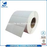 Étiquette fortement félicitée et appréciée de papier de collant de transfert thermique