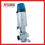 Aço inoxidável Válvula Mixproof Pneumática higiénica