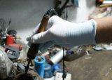 Пвх пунктирной Нейлоновая нить трикотажные рабочие перчатки