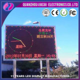 P10 Outdoor LED de couleur double affichage de message