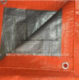 Bleu / noir / orange Couverture de durcissement du béton