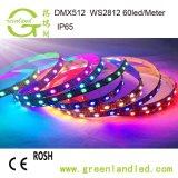 На заводе Шэньчжэня оптовой Ce RoHS утвердил 5m 5050 светодиодной подсветки RGB газа