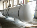 Shell de acero de carbón y cambiador de calor modificados para requisitos particulares vendedores calientes del tubo