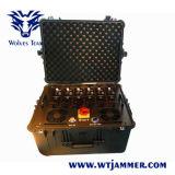 Портативный Multi Jammer воиска UHF VHF наивысшей мощности предохранения от обоза корабля VIP полосы