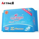 Alta absorción toalla sanitaria femenina toalla sanitaria