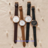 O logotipo personalizado relógio de quartzo para homens de pulso de moda para casais (WY-17010C)